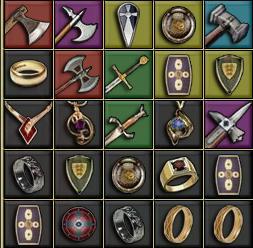 Sherwood Broń i tarcze
