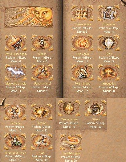 Heroes 3 - Magia Ognia