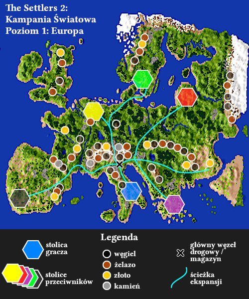 Settlers 2 Europe Campaign