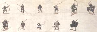 Shogun - Rekrutacja