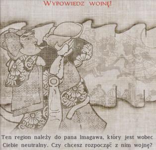 Wypowiadanie wojny w Shogun