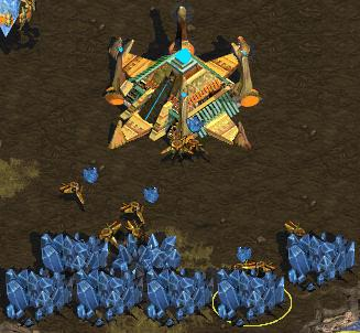 Starcraft Minerały