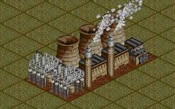 OpenTTD Elektrownia