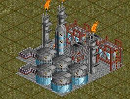 OpenTTD Rafineria