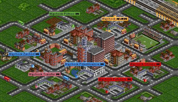 OpenTTD Miasto