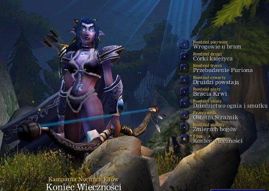 Warcraft 3 - Nocne Elfy