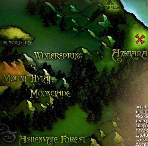 Mapa - Kampania Strażniczek